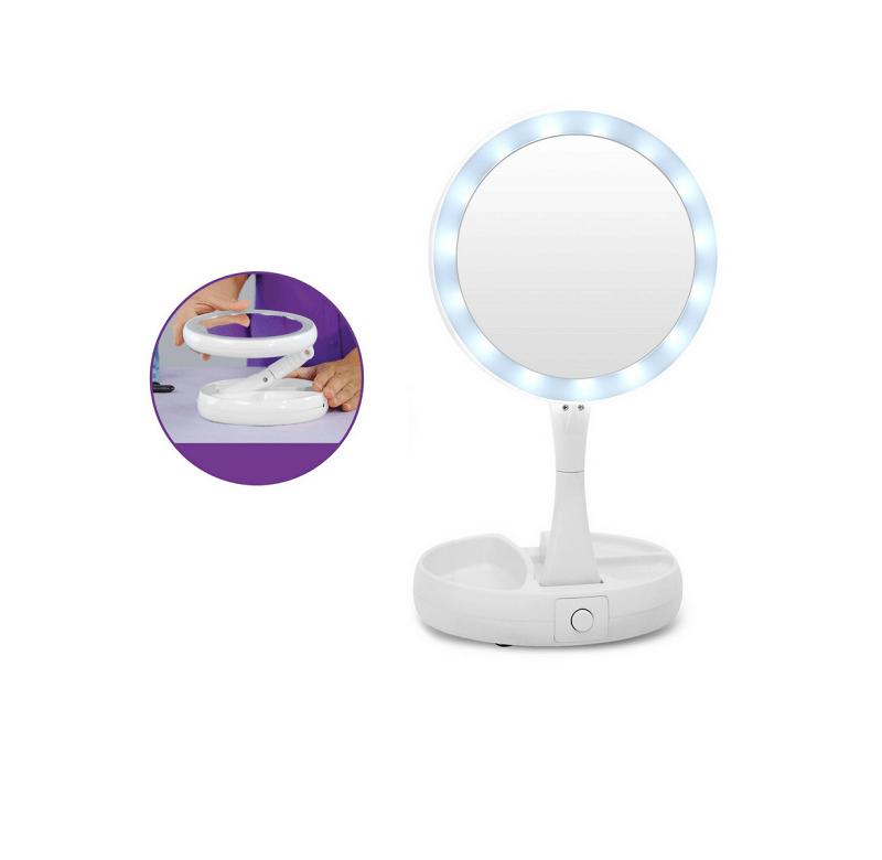 Καθρέφτης μακιγιάζ με LED - 154777