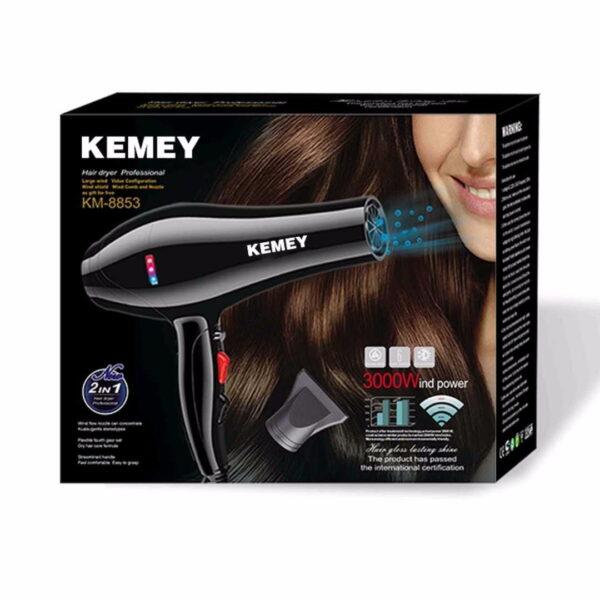 Πιστολάκι μαλλιών – KM-8853 – Kemei