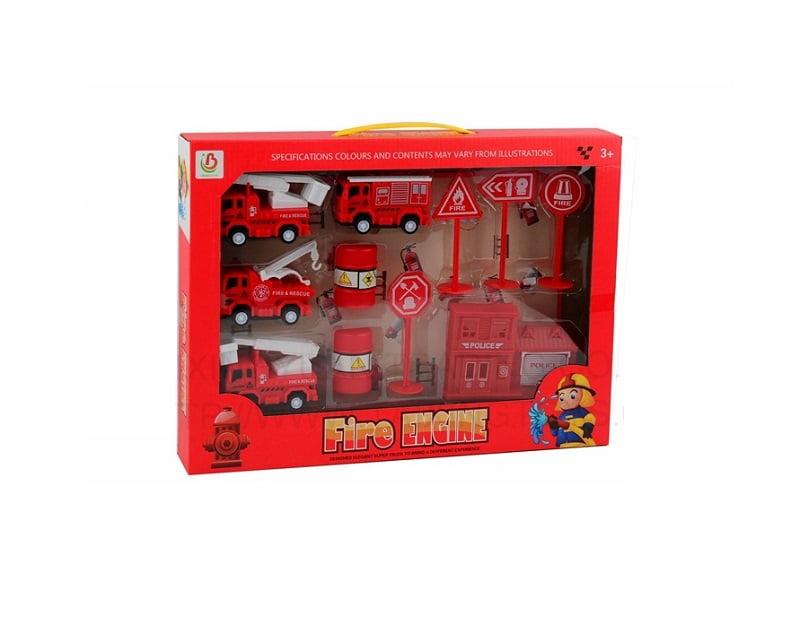 Παιδικό παιχνίδι για αγόρια - πυροσβεστικά οχήματα