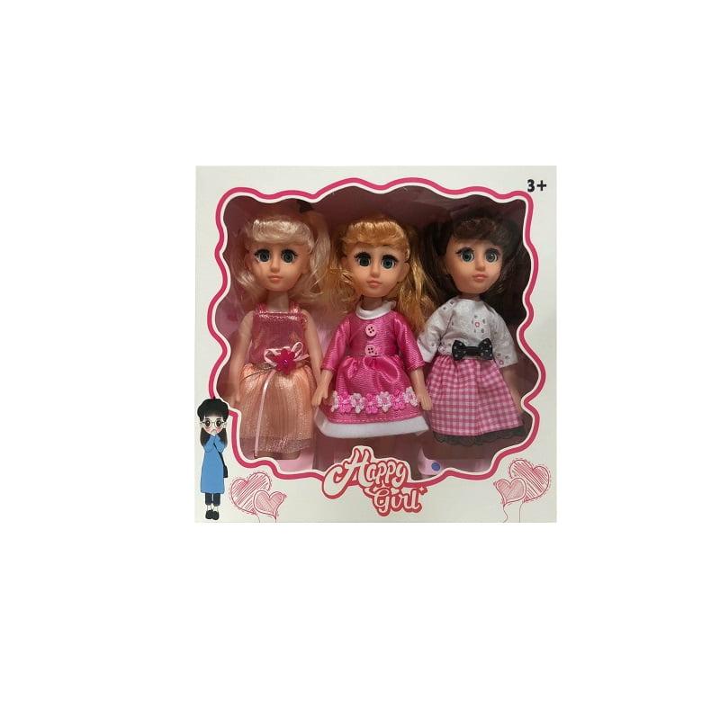 Παιδικές κούκλες - Σετ 3Χ