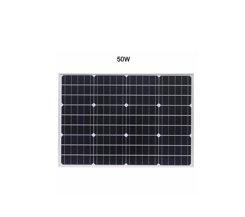 Ηλιακό πάνελ μονοκρυσταλλικού πυριτίου - 50W