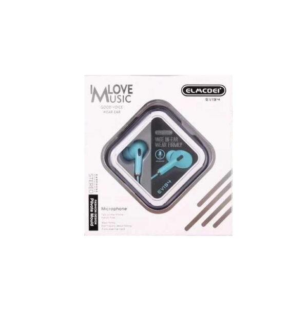 Ενσύρματα ακουστικά – EV194 – 202159 - Cyan