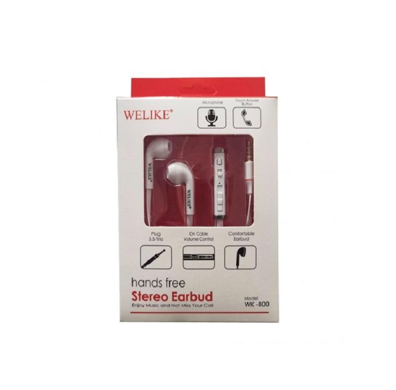 Ενσύρματα ακουστικά – WK800 - WeLike - 202263 - White