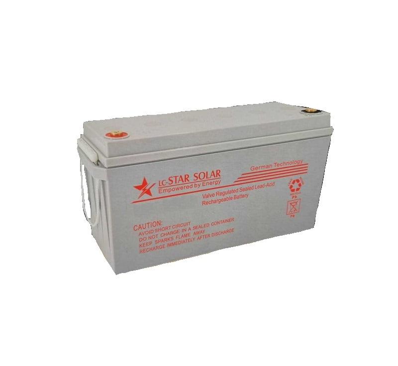 Μπαταρία 150ΑΗ/10hr – 12V – LC-STAR SOLAR – 690066