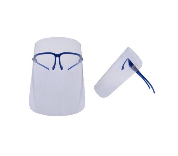 Προστατευτική ασπίδα προσώπου με γυαλιά - Face Shield - S46-84