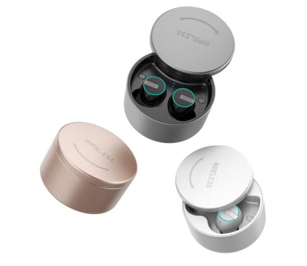 Ασύρματα ακουστικά με βάση φόρτισης – TWS – M7 - White