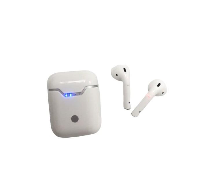 Ασύρματα ακουστικά με βάση φόρτισης – TWS – Q9L - White