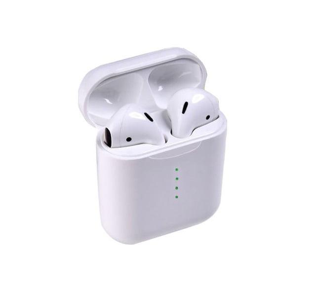 Ασύρματα ακουστικά με βάση φόρτισης – TWS – i888 - White