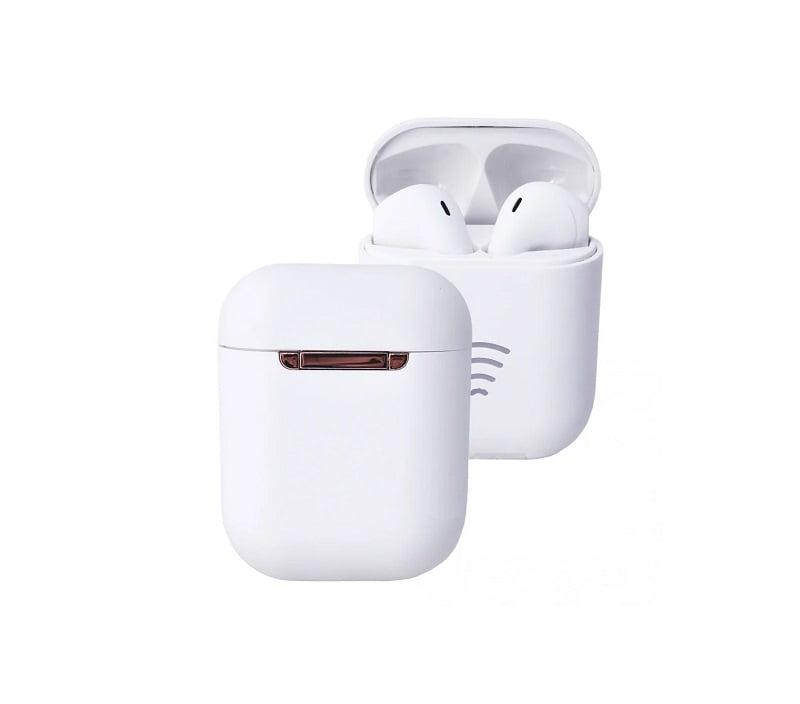 Ασύρματα ακουστικά με βάση φόρτισης – TWS – V81 - White