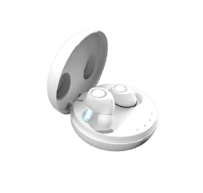 Ασύρματα ακουστικά με βάση φόρτισης - M6 Mini - TWS - White
