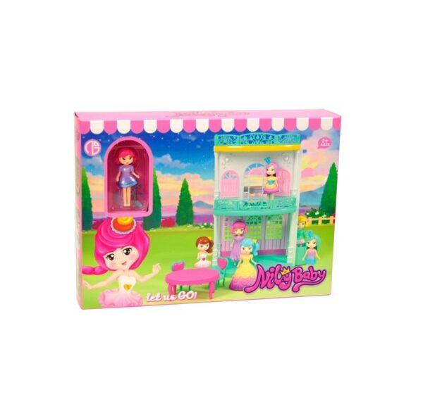 Παιδικό παιχνίδι - κοριτσίστικο κουκλόσπιτο