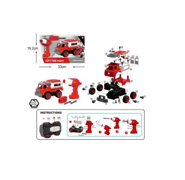 Συναρμολογούμενο όχημα πυροσβεστικής