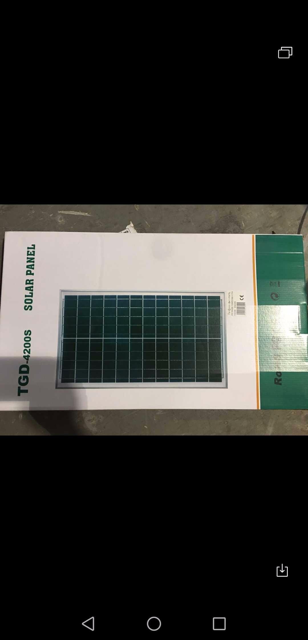 Προβολέας 150W με πάνελ - Solar panel - 718899