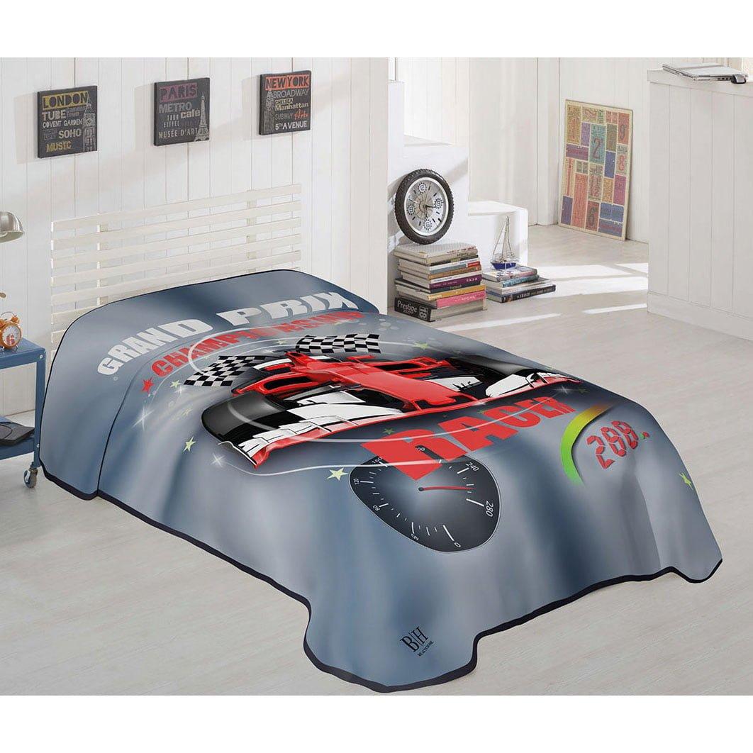 Κουβέρτα μονή Art 6115  160x220  Εμπριμέ Beauty Home