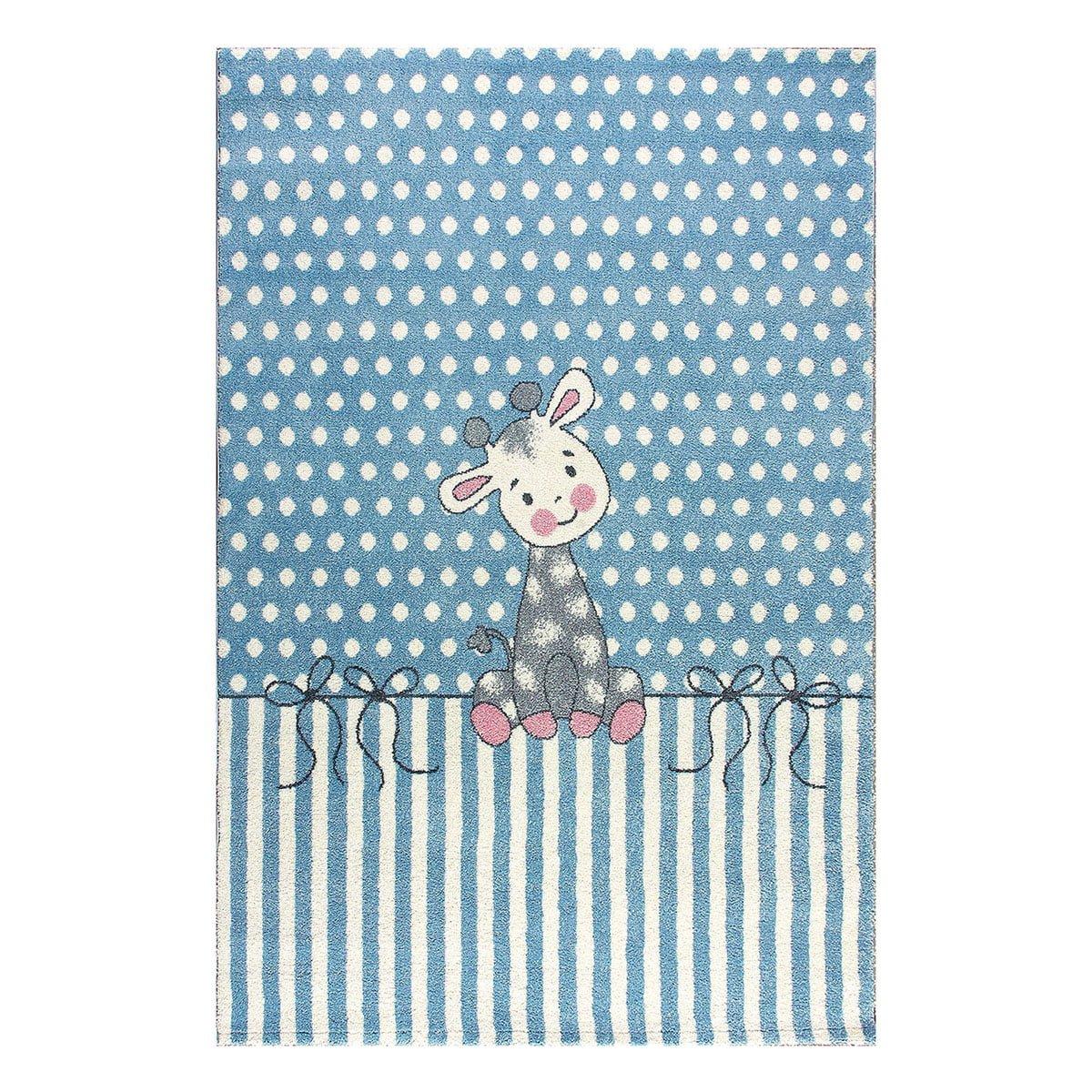 Χαλί Yolo Art 9504  133x190 Γαλάζιο Beauty Home