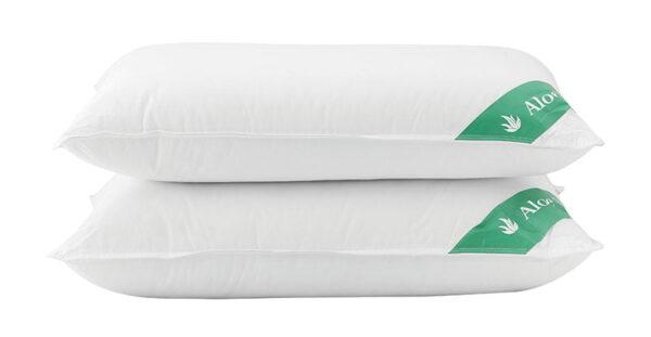Μαξιλάρι ύπνου με Aloe Vera Art 4002 Μέτριο 50x70 Λευκό Beauty Home