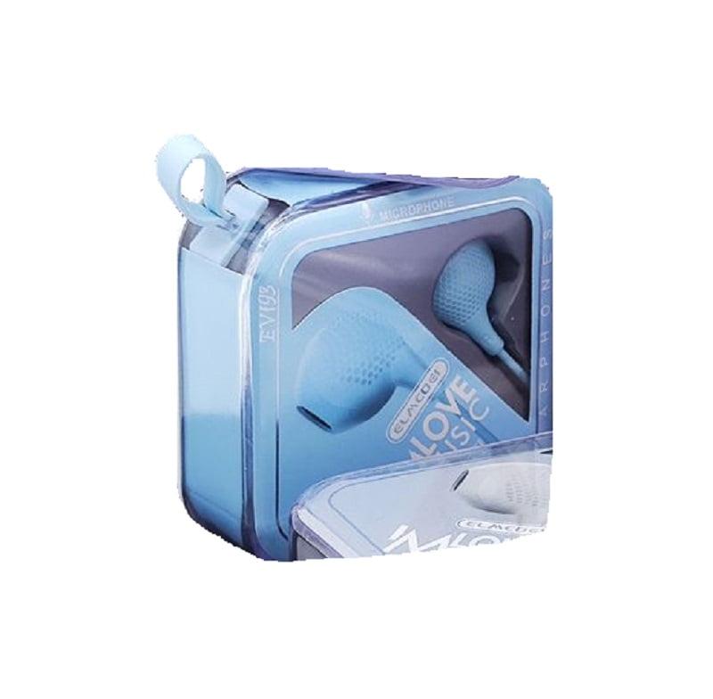 Ενσύρματα ακουστικά - 3.5mm - EV193 - Blue
