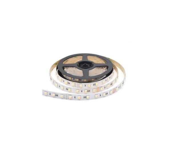 Ρολό LED ταινίας – LED Strip - 6W 12V IP55 - Μπλε χρώμα - 5m
