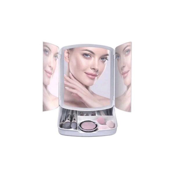 Καθρέφτης μακιγιάζ με συρταράκι - 681950