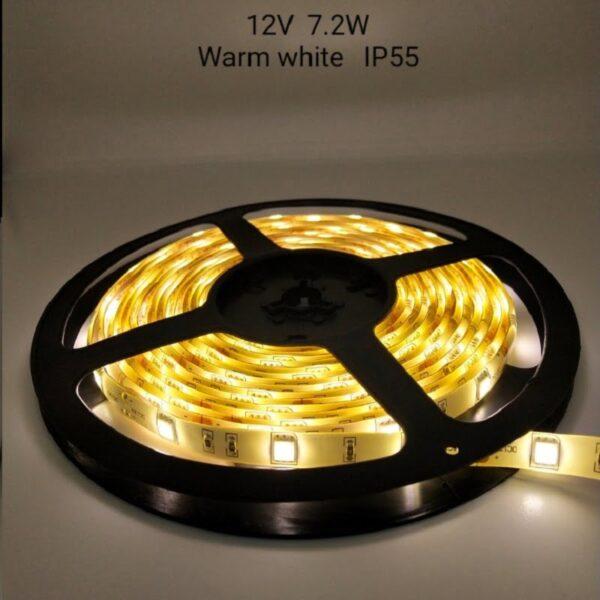 Ρολό LED ταινίας – LED Strip - IP55 - 5m - Warm white - 789028
