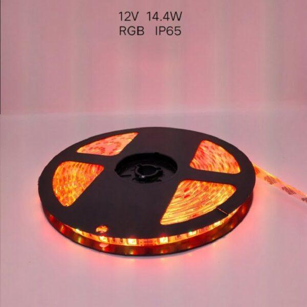 Ρολό LED ταινίας – LED Strip - IP65 - 5m - RGB - 789011