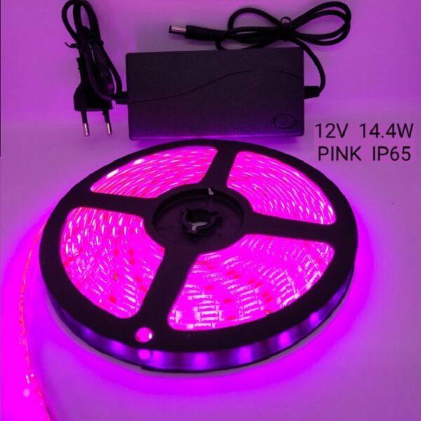 Ρολό LED ταινίας – LED Strip - IP65 - 5m - Blue - 891203