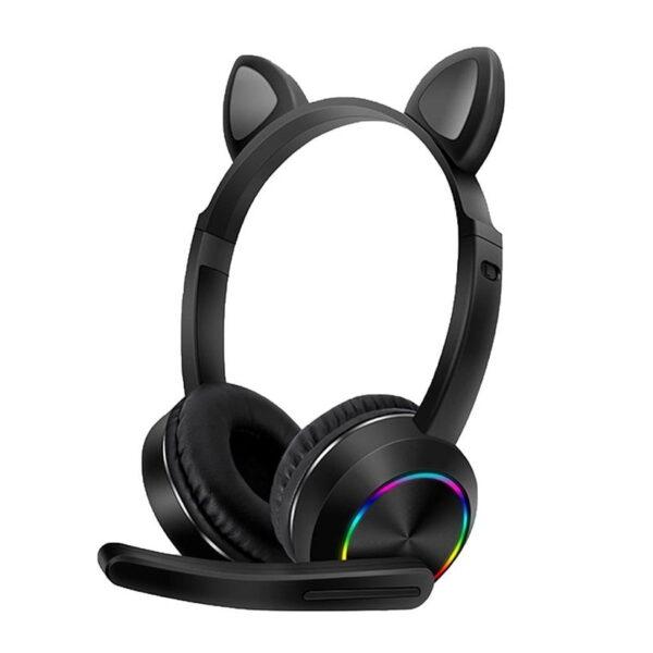 Ενσύματα ακουστικά - Cat Headphones - AKZ-020 - 800202 - Black