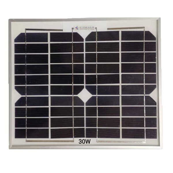 Ηλιακό πάνελ - 30W - 602227