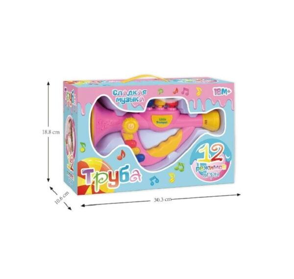 Παιδικό μουσικό όργανο - τρομπέτα - 2866-1E - 377941
