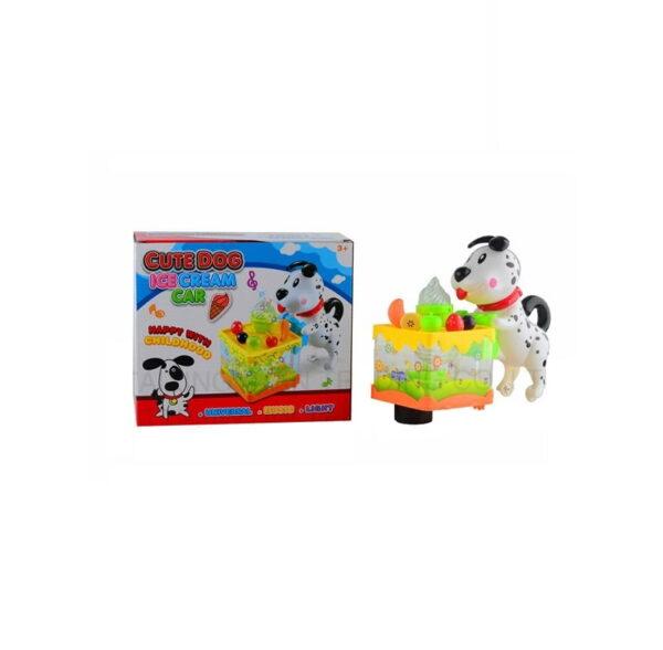 Βρεφικό παιχνίδι - παγωτατζίδικο με σκυλάκι - 3039A - 552007