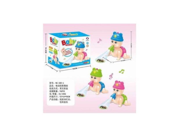 Ηλεκτρονικό μωρό που μπουσουλάει - 588-6 - 158869