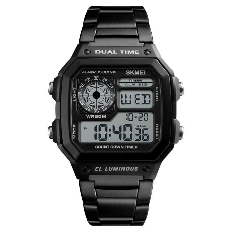 Ψηφιακό ρολόι χειρός – Skmei - 1335 - Black