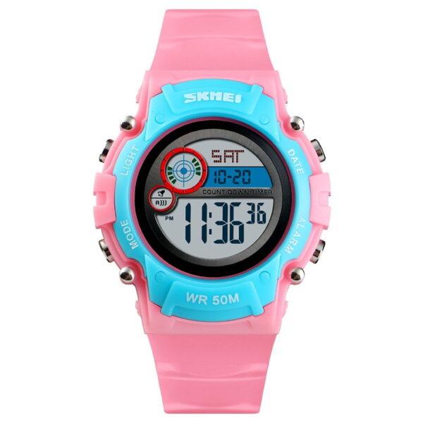 Ψηφιακό ρολόι χειρός – Skmei - 1477 - Pink/Blue