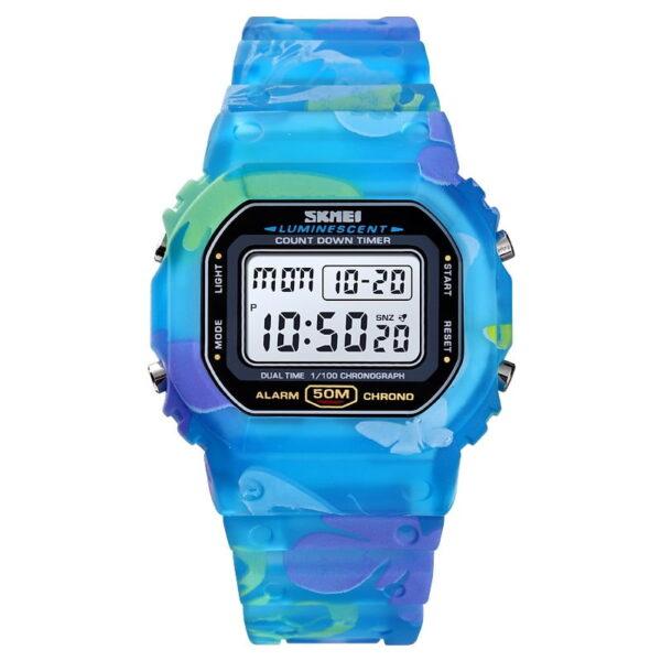 Ψηφιακό ρολόι χειρός – Skmei - 1627 - Blue