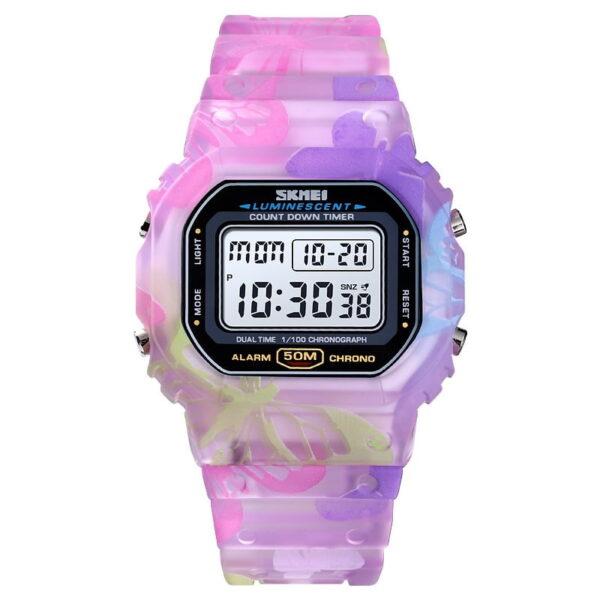 Ψηφιακό ρολόι χειρός – Skmei - 1627 - Purple