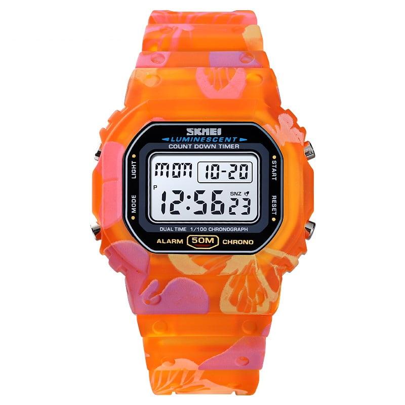 Ψηφιακό ρολόι χειρός – Skmei - 1627 - Orange