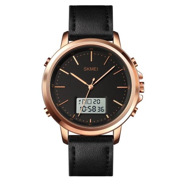 Ψηφιακό/αναλογικό ρολόι χειρός – Skmei - 1652 - Rose Gold