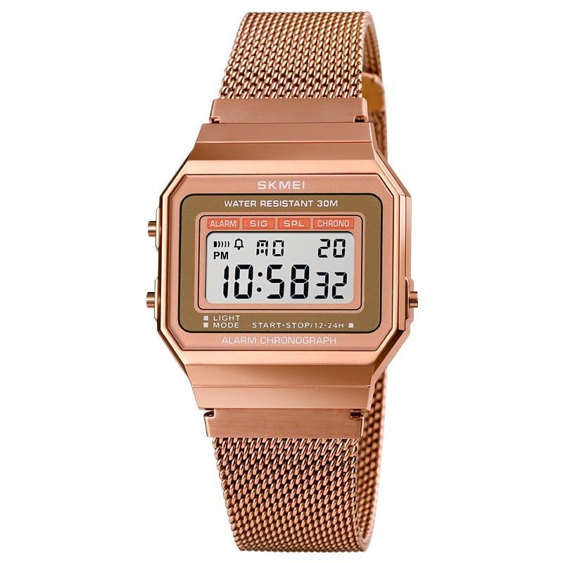 Ψηφιακό ρολόι χειρός – Skmei - 1660 - Rose Gold