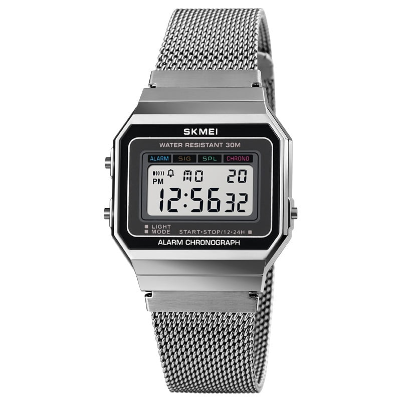 Ψηφιακό ρολόι χειρός – Skmei - 1660 - Silver