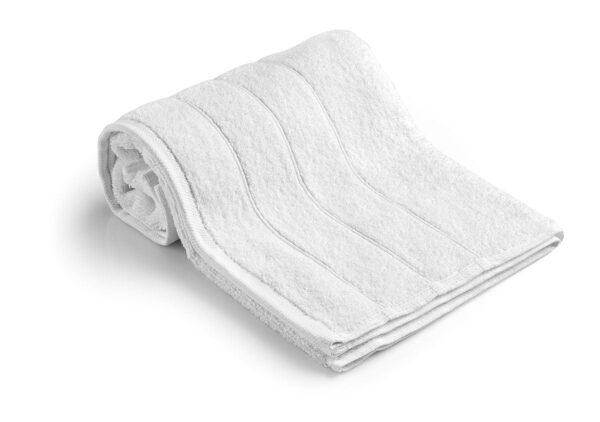 Πετσέτα Προσώπου Ξενοδοχείου 600gsm Crystal 100% Cotton 50x95 Λευκό Beauty Home