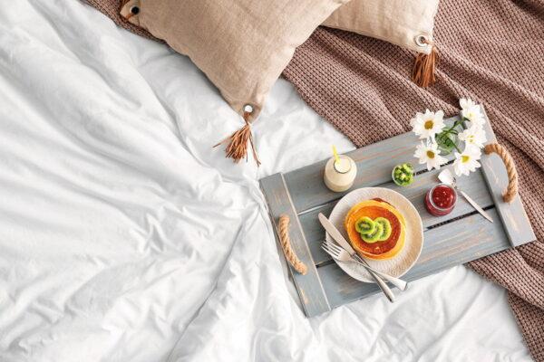 Μαξιλαροθήκη Ξενοδοχείου 5-Star 300tc Satin 100% Cotton Λευκό 55x75 Beauty Home