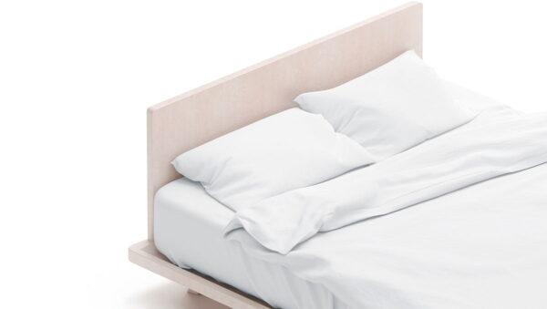 Μαξιλαροθήκη Ξενοδοχείου Lucid Percale CVC 80%Cot-20%Pol Λευκό 53x73 Beauty Home