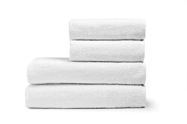 Πετσέτα Χειρός Ξενοδοχείου 500gsm Plain 100% Cotton 30x50 Λευκό Beauty Home