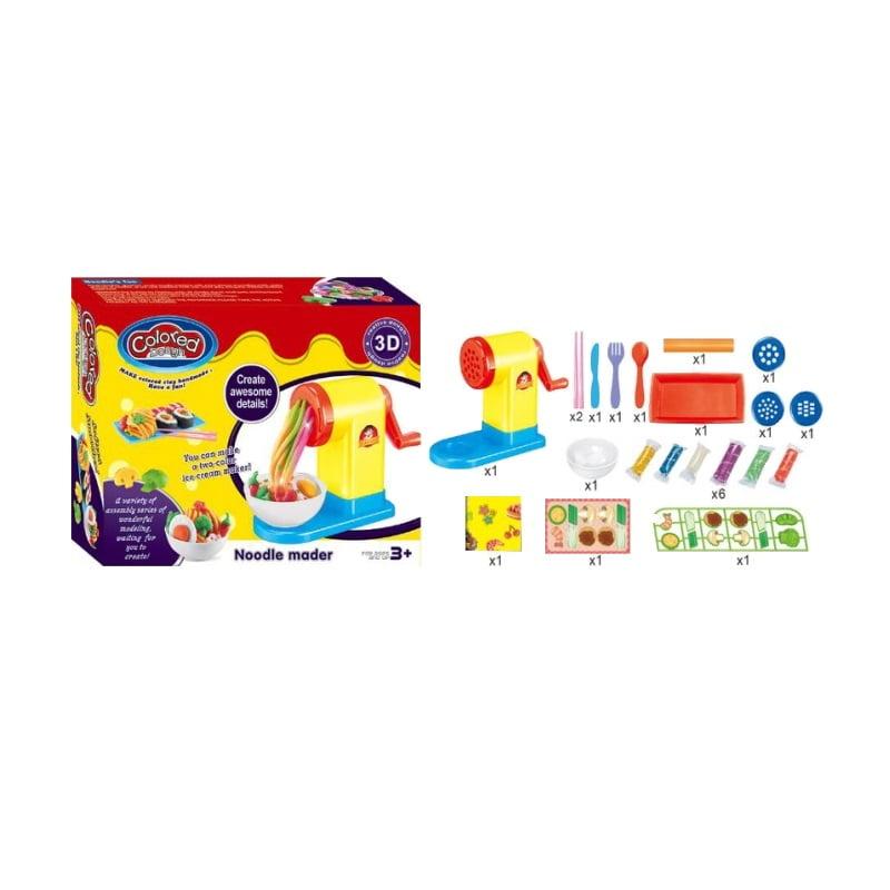 Σετ κατασκευών πλαστελίνης - Noodles - 9107 - 700623