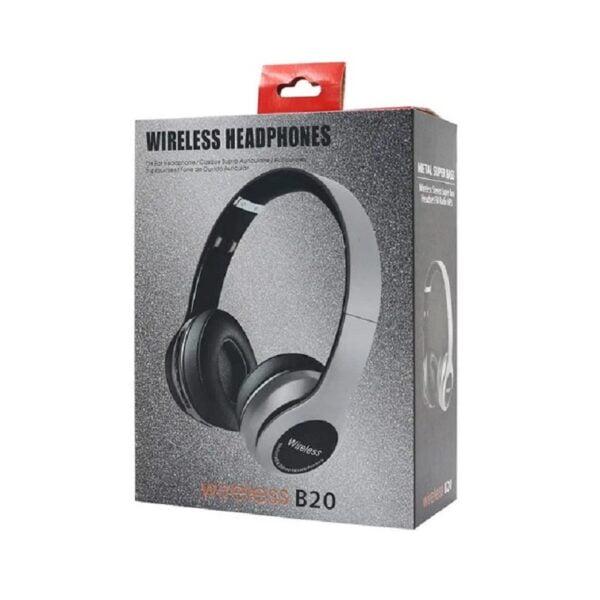 Ασύρματα ακουστικά - Headphones - B20 - 881568 - White
